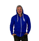Land Paddle Life Full Zip Hoodie Royal Heather - Men