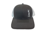 Land Paddle Life Charcoal / White Snapback Hat - Men's
