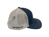 Land Paddle Life Slate / White Snapback Hat - Men's