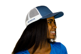 Land Paddle Life Slate / White Snapback Hat - Women's