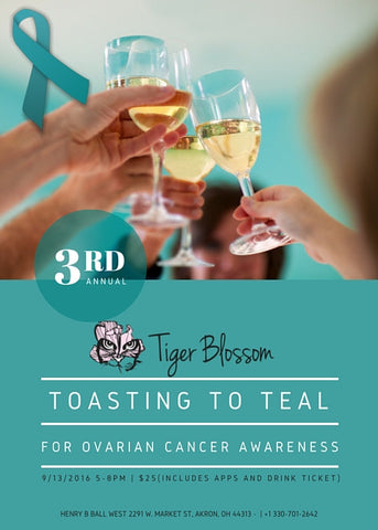 Toasting to Teal Admission Ticket - Akron