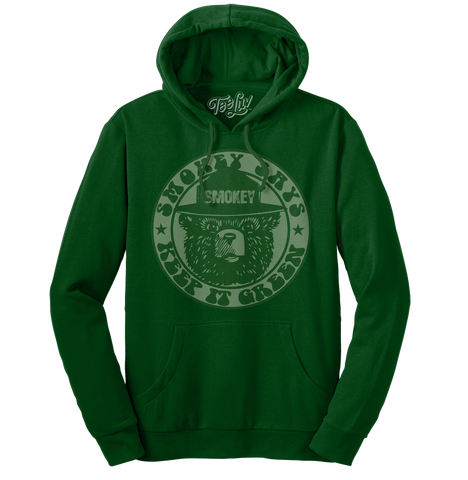 "Smokey ""Keep it Green"" Pull Over Hood"