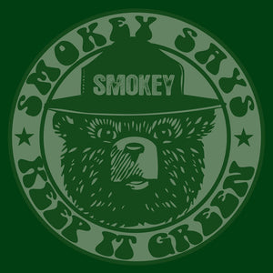 "Smokey ""Keep it Green"" Pullover Hooded Sweatshirt - Green"