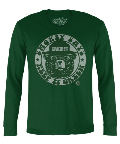 "Smokey ""Keep It Green"" Long Sleeve Soft Touch Tee"