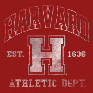 Harvard Athletic Department T-Shirt - Crimson