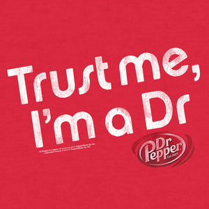 Dr Pepper Trust Me I'm a Dr T-Shirt - Red
