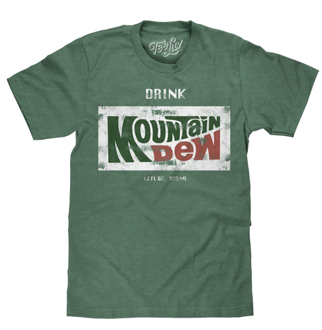 """Drink Mountain Dew"" Logo T-Shirt"