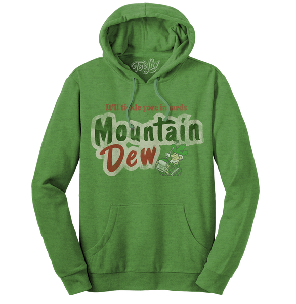 It'll Tickle Your Innards Mt Dew Hoodie