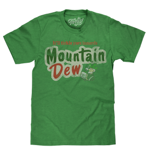 Mt. Dew It'll Tickle Your Innards T-Shirt - Green