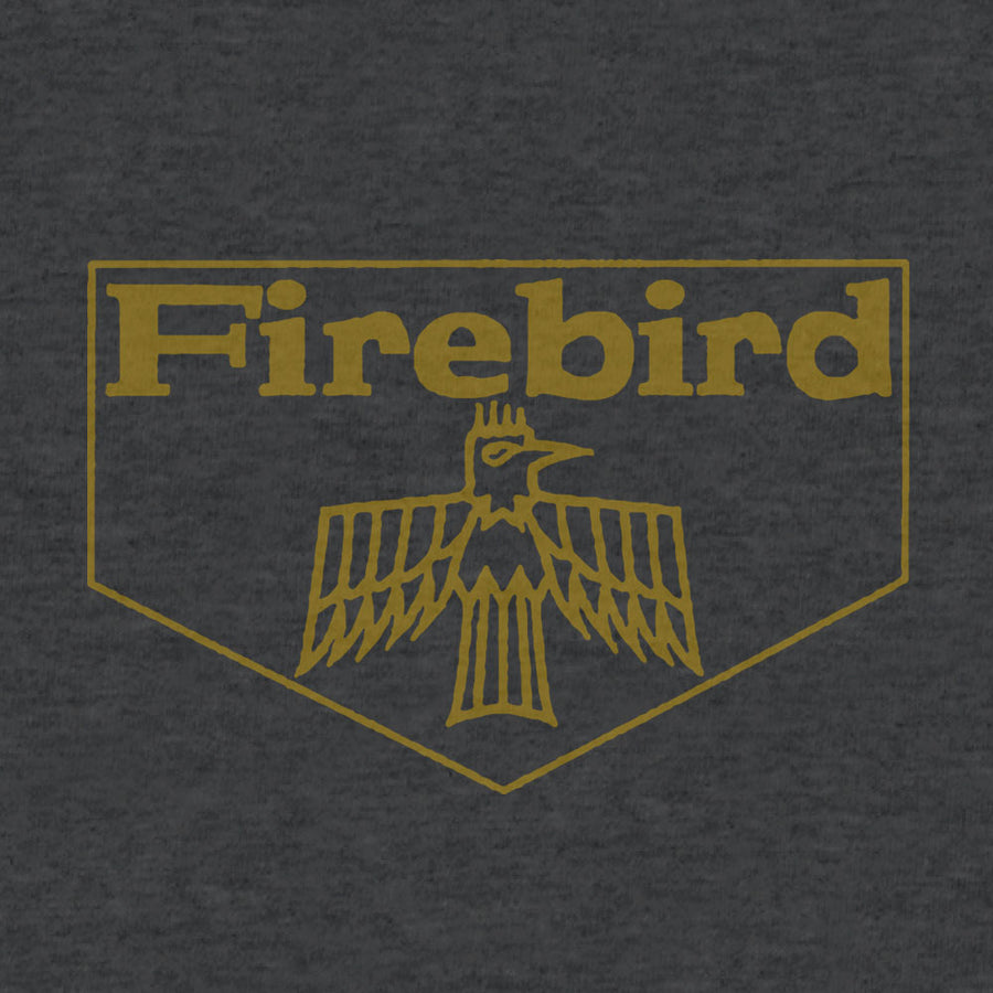 Pontiac Firebird T-Shirt - Charcoal Gray