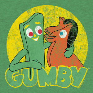 Gumby and Pokey T-Shirt - Green
