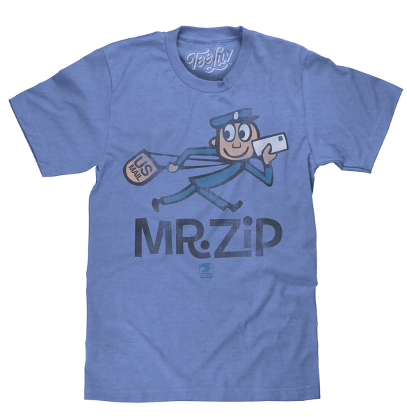 U.S. Mail Mr. Zip Vintage Design