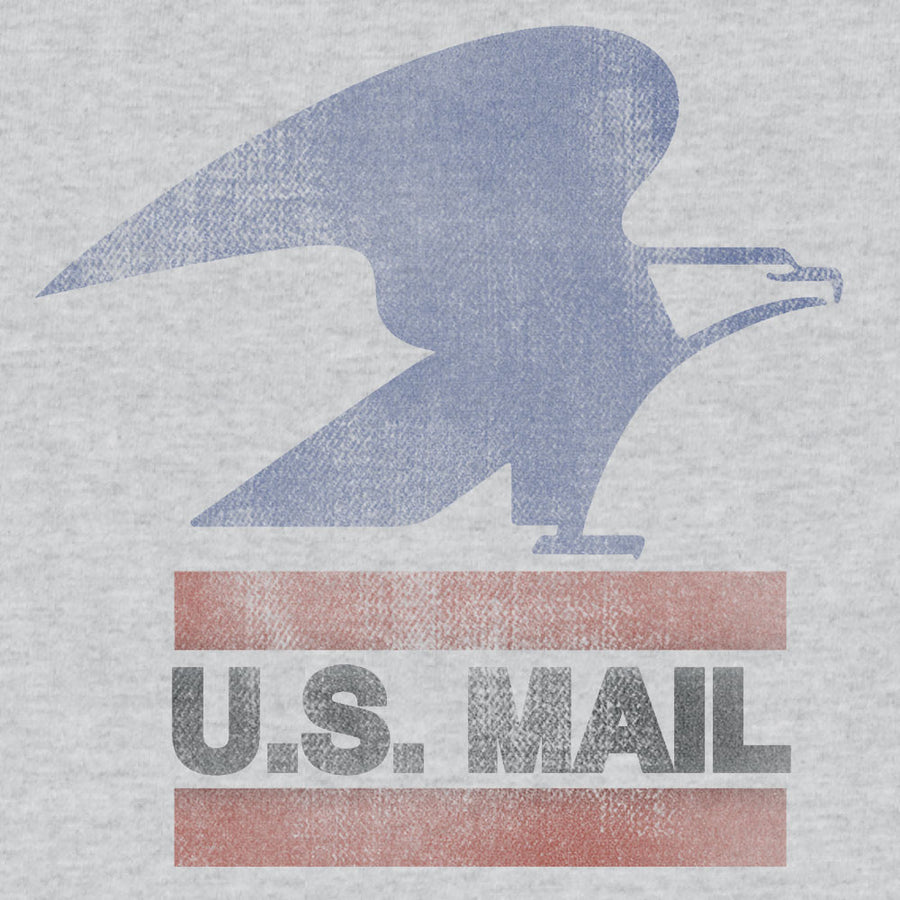 U.S. Mail Eagle Logo T-Shirt - Gray