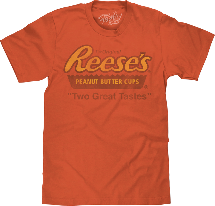 "Reese's ""Two Great Tastes"" Big and Tall T-Shirt - Orange"
