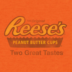 Reese's Peanut Butter Cup Two Great Tastes T-Shirt - Orange