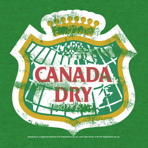 Canada Dry Distressed Logo T-Shirt - Green
