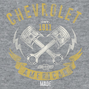 Chevrolet American Made T-Shirt - Gray