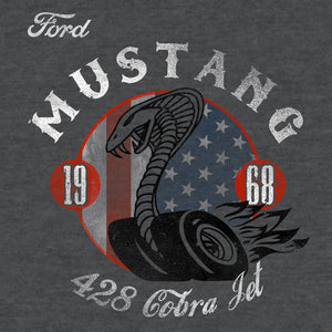 Ford Mustang Cobra T-Shirt - Gray