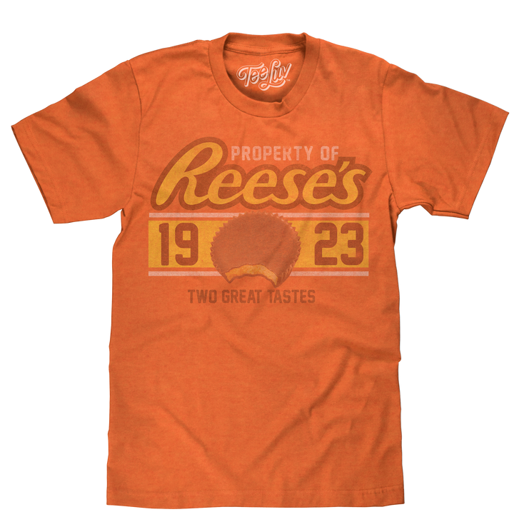 Property of Reese's T-Shirt - Orange