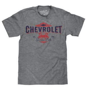 Chevrolet Genuine Parts T-Shirt - Gray