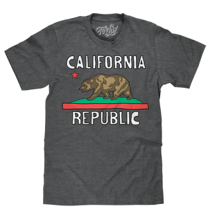 California Republic T-Shirt - Gray