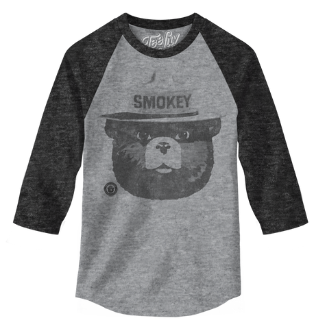 Smokey Bear Raglan