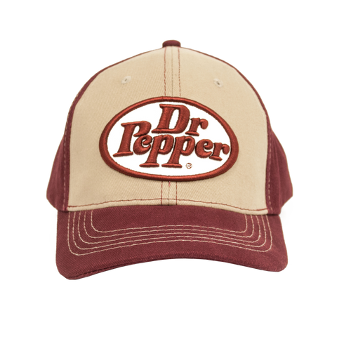 Dr Pepper Oval Logo Hat