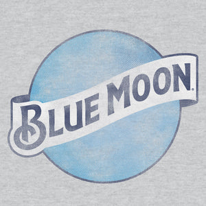 Blue Moon Logo Hooded Sweatshirt - Gray