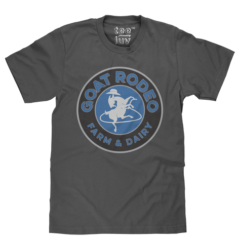 Goat Rodeo Men's Charcoal Tee