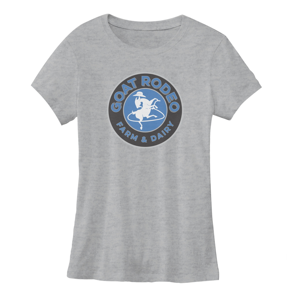 Goat Rodeo Women's Grey Tee