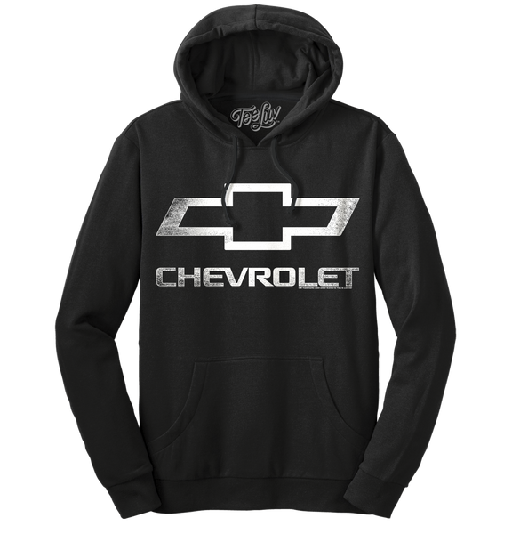 Chevrolet Logo Pull Over Hooded Fleece