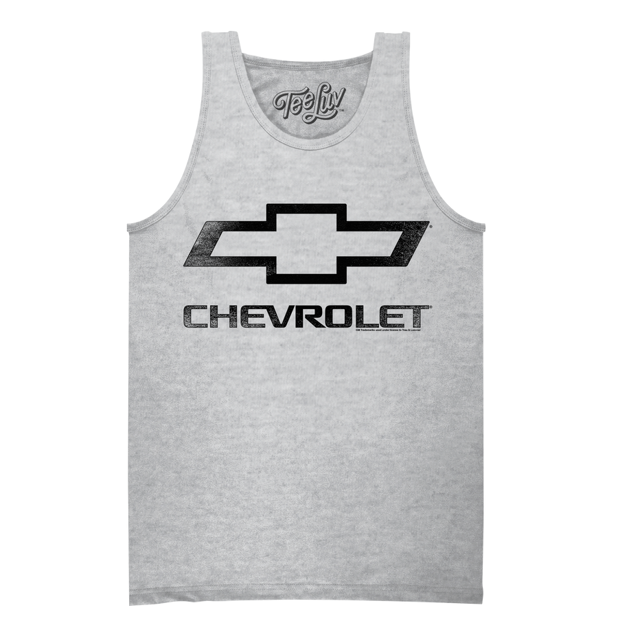 Chevrolet Logo Tank Top - Gray