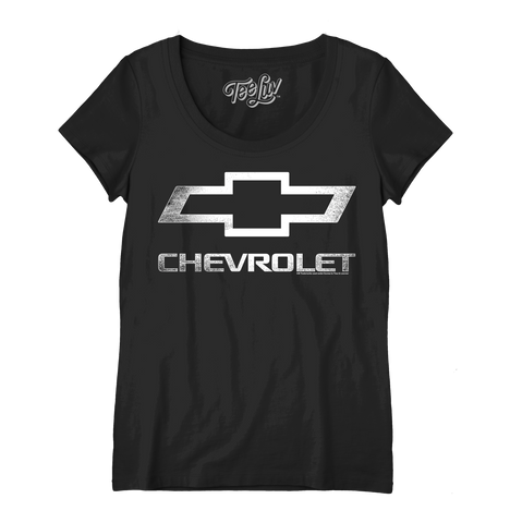 Women's Chevrolet Logo Scoop Tee