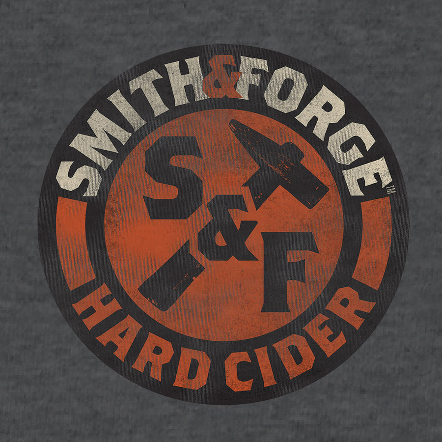 Smith & Forge Hard Cider Logo T-Shirt - Gray