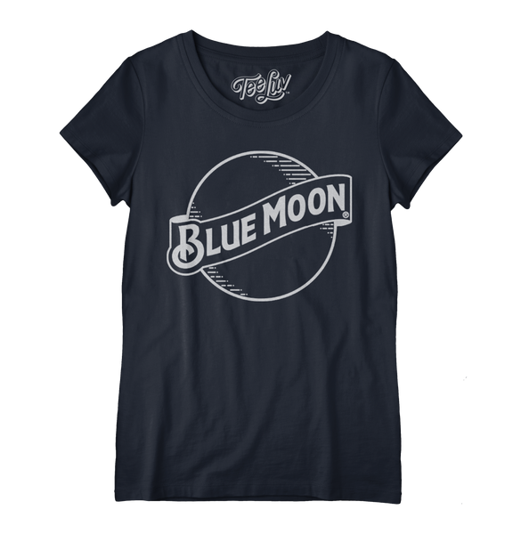 Blue Moon Logo Women's Scoop Tee
