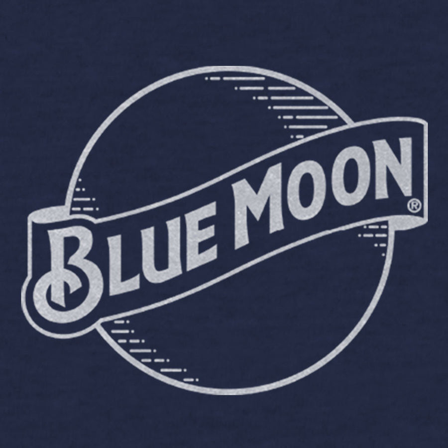 Blue Moon Logo. tee-luv.com