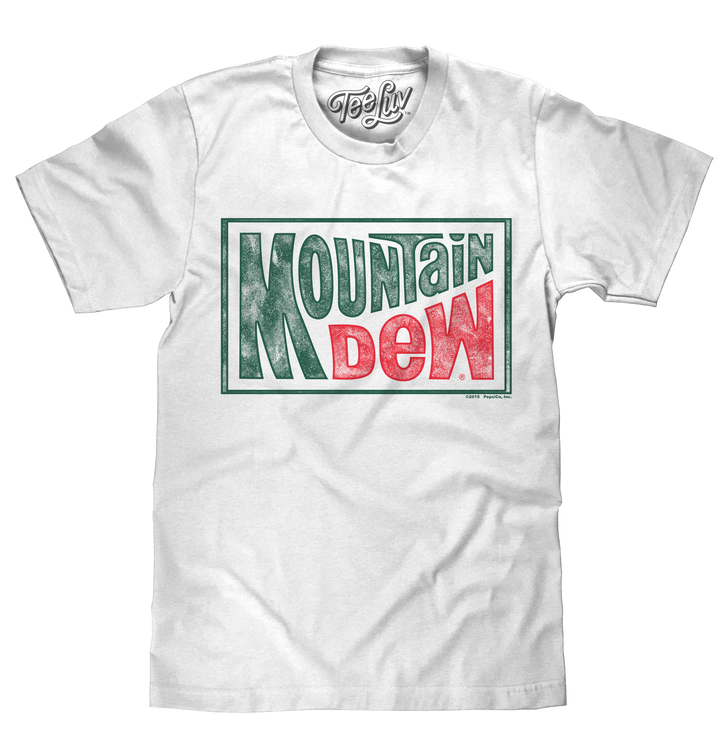 Mountain Dew Retro Logo T-Shirt - White