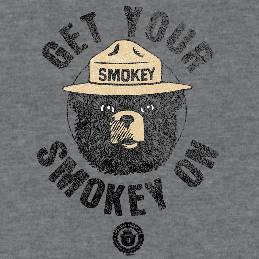 Get Your Smokey On T-Shirt - Gray