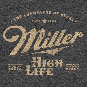 Miller High Life The Champagne of Beers Tank Top - Gray