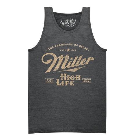 Miller The Champagne of Beers Tank