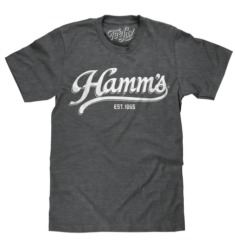 Hamm's Established 1865 | white print