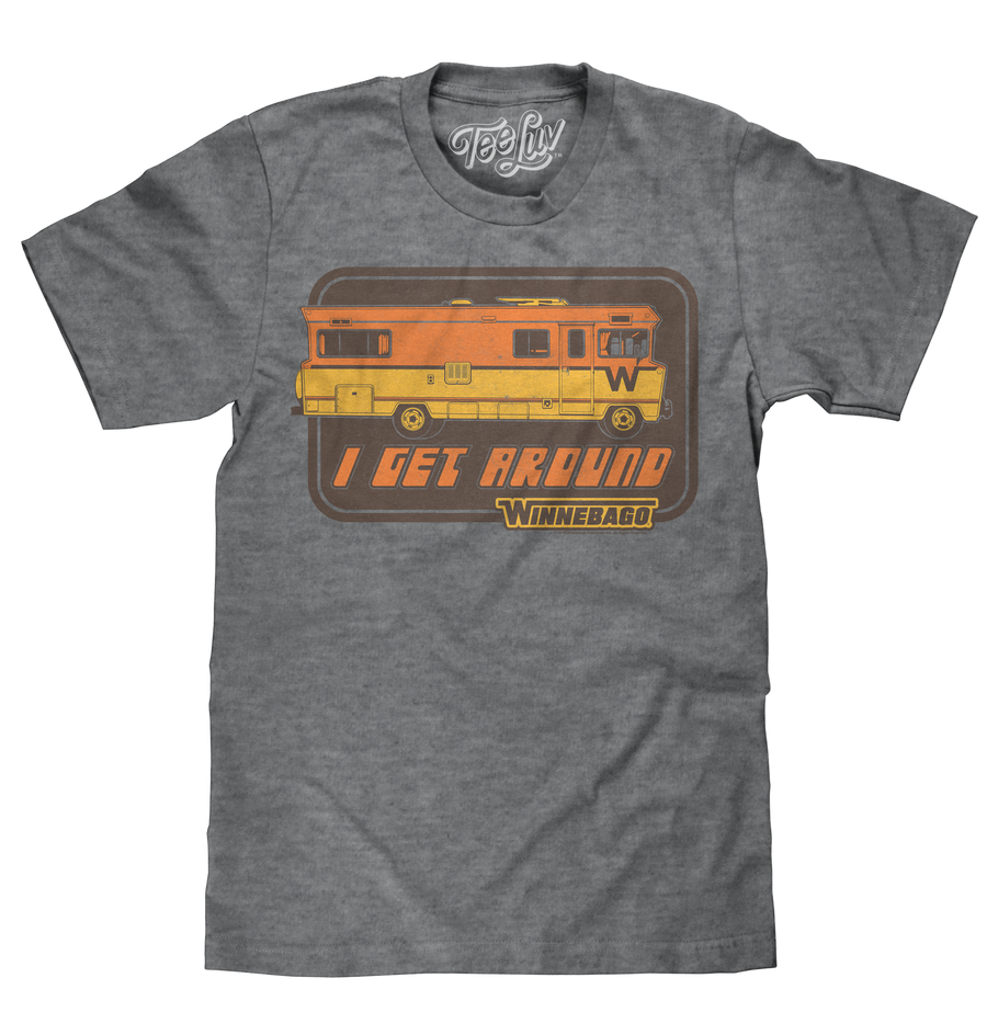 "Winnebago ""I Get Around"" T-Shirt - Gray"