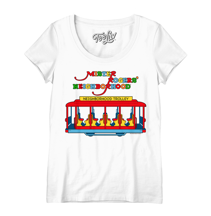 Women's Neighborhood Trolley Scoop Tee
