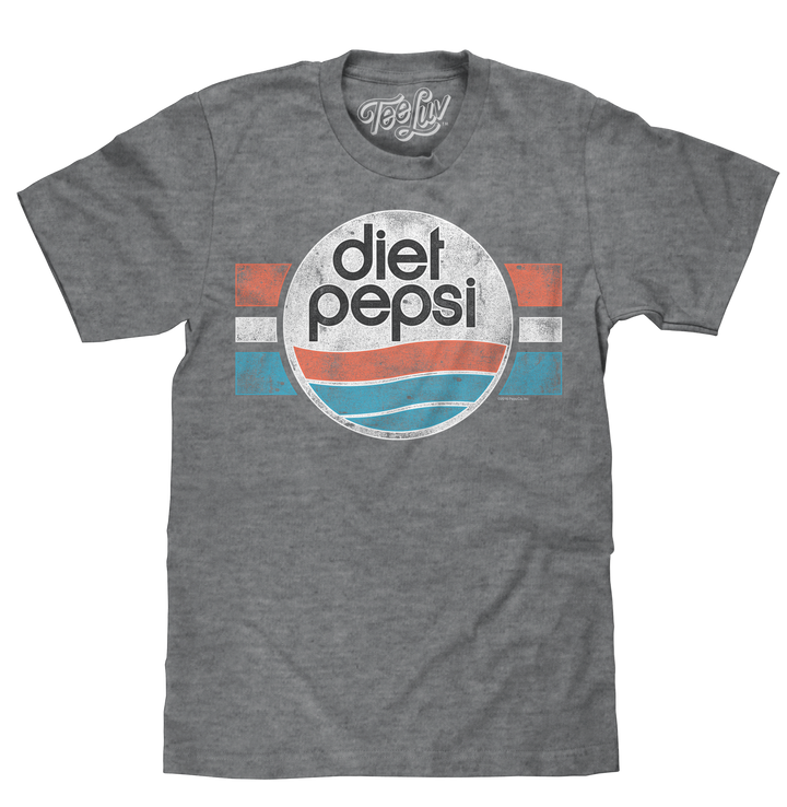 Diet Pepsi Logo T-Shirt - Gray