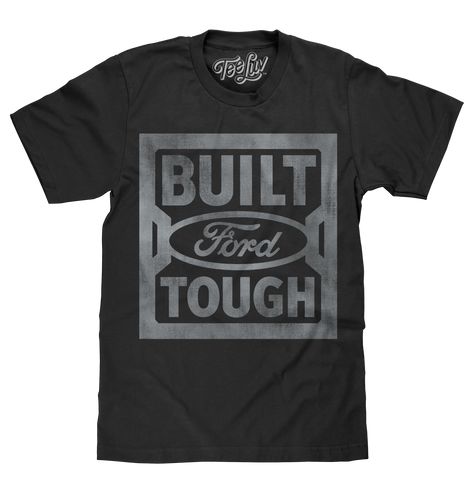 """Built Ford Tough"" Steel Stamp Logo"