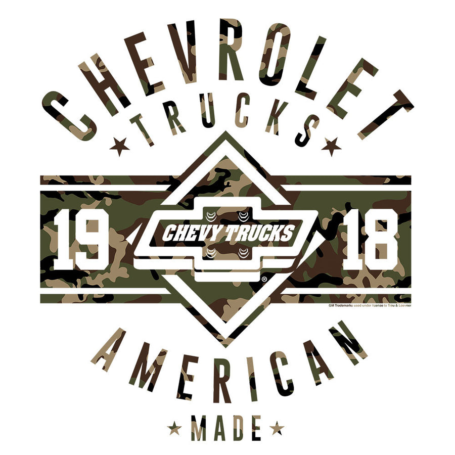 Chevrolet Trucks Since 1918 T-Shirt - White