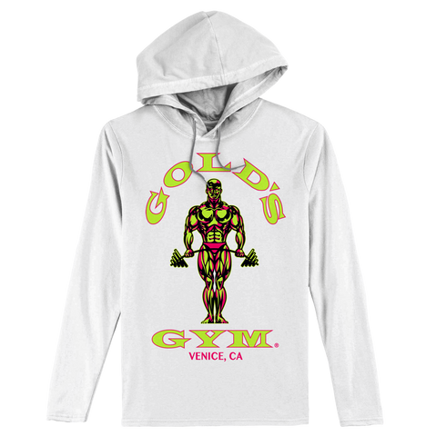 Gold's Gym Long Sleeve Hooded Tee