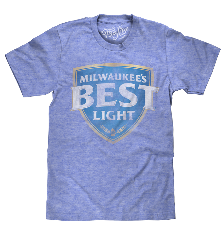 Milwaukee's Best Light Logo T-Shirt - Blue