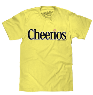 Cheerios Logo T-Shirt - Yellow