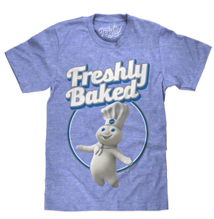 Pillsbury Doughboy Freshly Baked T-Shirt - Blue